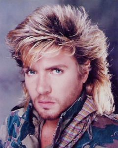 80s hairstyle men